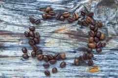 Kakor med kaffe Royaltyfria Foton