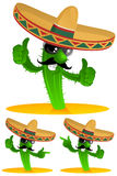 kaktus trzy Zdjęcie Stock