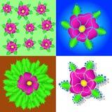 Kaktusblume lizenzfreie stockfotografie