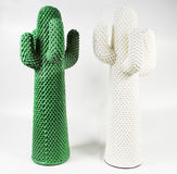 kaktusowa dekoracyjna nowożytna para Fotografia Royalty Free