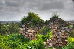 Kakun castle ruins Royalty Free Stock Photography
