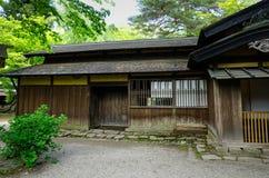 Kakunodate Samurai District in Akita, Japan. An ancient wooden house at Kakunodate Samurai District in Akita, Japan. Kakunodate is a former castle town and Stock Image