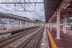 Kakunodate stacja Akita, Japonia Zdjęcia Stock