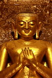 Kakusanda buddha image, Ananda temple Royalty Free Stock Photo