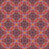 Kaléidoscope abstrait ou modèle sans fin Photos stock