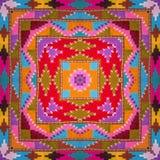 Kaléidoscope abstrait ou modèle sans fin Photographie stock