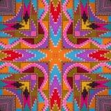 Kaléidoscope abstrait ou modèle sans fin Photo libre de droits