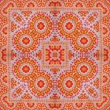 Kaléidoscope abstrait ou modèle sans fin Image stock