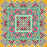 Kaléidoscope abstrait ou modèle sans fin Images stock