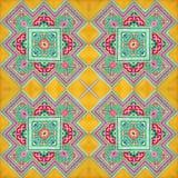 Kaléidoscope abstrait ou modèle sans fin Photo stock