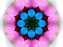 Kaléidoscope d'oeufs de pâques Photo libre de droits