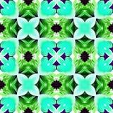 Kaléidoscope de batik à la pivoine Photographie stock