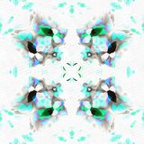 Kaléidoscope de batik avec la paix Photo libre de droits