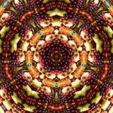 Kaléidoscope de champ de cablage à couches multiples de fruit   Images libres de droits