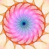 Kaléidoscope de fractale Images stock