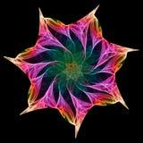 Kaléidoscope de fractale Photos stock