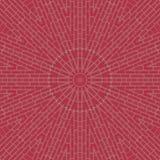Kaléidoscope de modèle de tuiles de blocs de briques motif illustration de vecteur