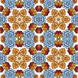 Kaléidoscope des succulents Images stock