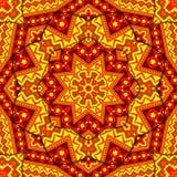 Kaléidoscope indien Photos stock