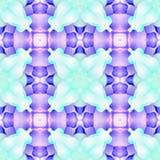 Kaléidoscope Rose profonde de batik Images libres de droits