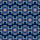 Kaléidoscope sur un fond foncé Images libres de droits