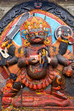 Kal Bhairav a Kathmandu immagine stock