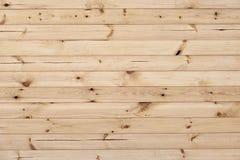 Kal träplankatextur Arkivbild