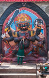 Kala Bhairava Stock Photography
