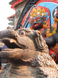 Kala Bhairawa, Катманду, Непал Стоковое Фото