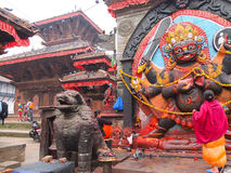 Kala Bhairawa, Катманду, Непал Стоковая Фотография RF