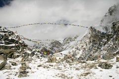 kala patthar的尼泊尔 免版税库存图片