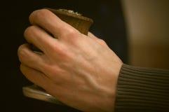 Kalabas в руках Стоковое Фото