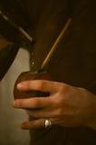 Kalabas в руках Стоковое Изображение RF