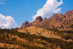 Kalabrien-Landschaft Lizenzfreie Stockfotografie