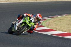 Kalabrien-Motor Team Endurance 24 Stunden von Catalunya Lizenzfreie Stockbilder