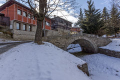 Kalachev Bridge - the Bridge of the first shotgun in historical town of Koprivshtitsa, Stock Photos