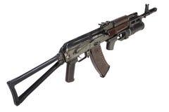Kalachnikov AK 74 avec le lance-grenades GP-25 Photographie stock libre de droits