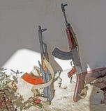 Kalachnikov de mitrailleuse Image libre de droits