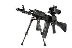 Kalachnikov de mitrailleuse Photos libres de droits