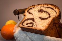 Kalacs - ungerskt sött bröd Arkivfoto