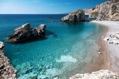Free Kaladi Beach On Island Of Kythira, Greece Stock Images - 154024014