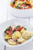 Kalafiorowa potrawka Zdjęcie Stock