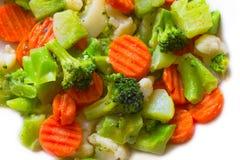 kalafiorowe brokuł marchewki Zdjęcie Stock