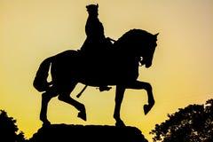 Kalaghoda statua, varodara Fotografia Stock