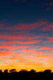 Kalahari sunrise Royalty Free Stock Photo