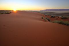 Kalahari Sunset Stock Photos
