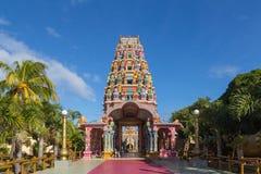 Kalaisson寺庙路易港毛里求斯 库存图片