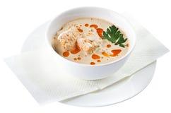 Kalakeitto - Finnish Fish Soup with Salmon Stock Photos