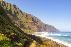 Kalalau Beach Stock Photography