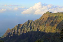 Kalalau Cliffs Royalty Free Stock Images